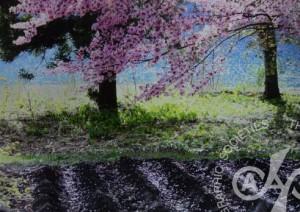 「山里の春」