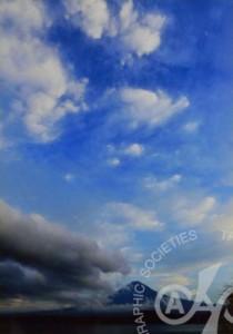 「白雲狂乱と富士」