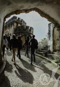 「古城巡り」