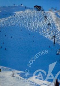 「八方尾根スキー場上級コース」