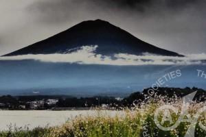 「黒い富士」